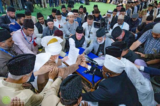 أكثر من 668000 شخص انضموا إلى الجماعة الإسلامية الأحمدية