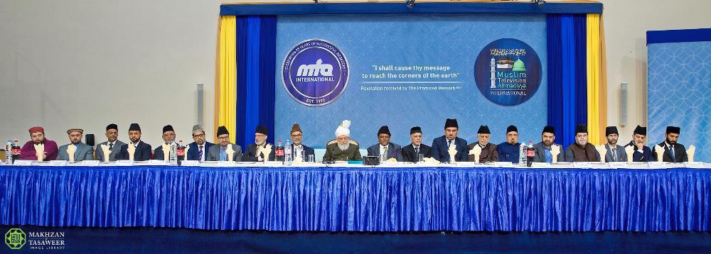 الجماعة الإسلامية الأحمدية تعقد حفل استقبال تاريخي في لندن بمناسبة الذكرى الـ 25 لتأسيس قناة إم تي إيه الدولية