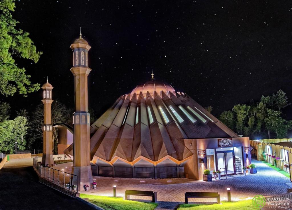 حفل استقبال تاريخي لافتتاح المركز العالمي الجديد للجماعة الإسلامية الأحمدية