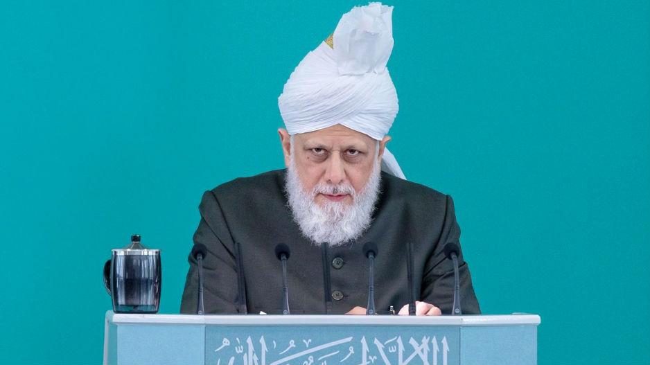 إمام الجماعة الإسلامية الأحمدية العالمية يلقي خطبة عيد الفطر المبارك من لندن.. المزيد>>