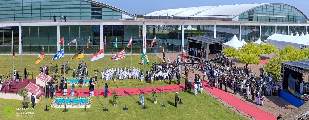 الجلسة السنوية للجماعة الإسلامية الأحمدية في ألمانيا تبدأ في كارلسروه
