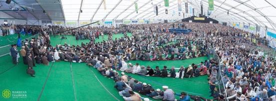 أكثر من 600000 شخص انضموا إلى الجماعة الإسلامية الأحمدية العالمية هذا العام